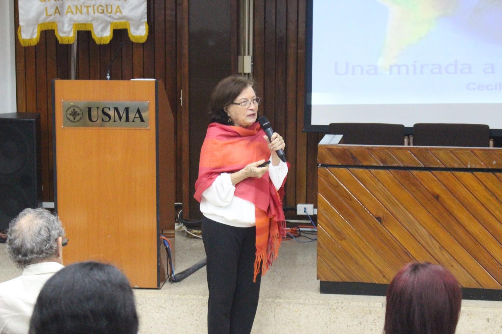 Escuela de Psicología de la USMA organiza conversatorio