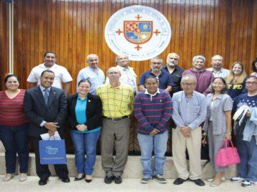 Docentes presentes en el seminario