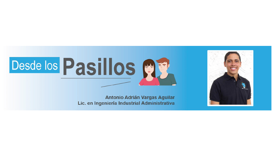 Desde los Pasillos: Antonio Vargas, estudiante de Ing. Industrial