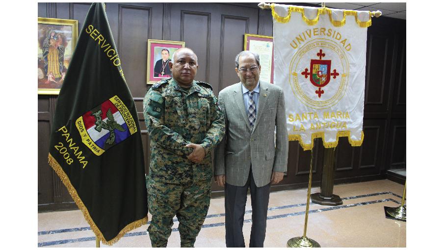 USMA y SENAFRONT formalizan acuerdo de cooperación