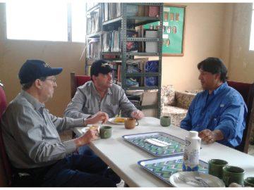 Granja Casiciaco recibe visita del IDIAP