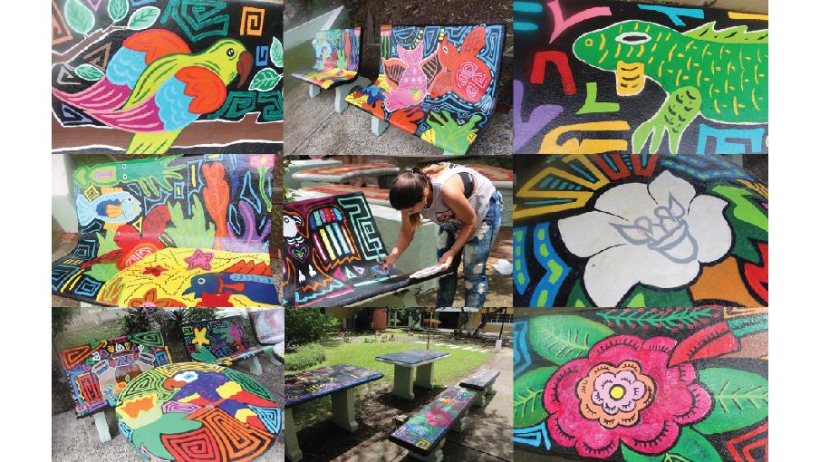 Estudiantes de Arquitectura y Diseño resaltan la Cultura Panameña