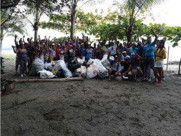 Jornada Nacional de Limpieza de Playas sede USMA Veraguas