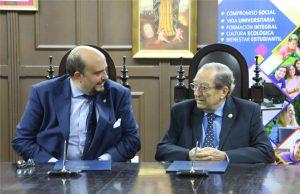 USMA firma convenio Universidad Nebrija
