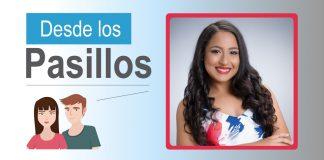Greicy Flores presidenta de Asociación de Estudiantes de Com. Social