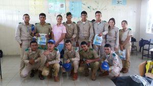 Graduandos del Instituto Profesional y Técnico Agropecuario de los Llanos de Ocú