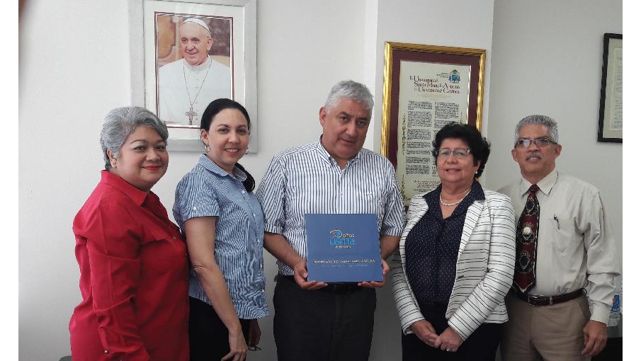 Nos visita Rector de la Corporación Universitaria UNIMINUTO, de Bogotá
